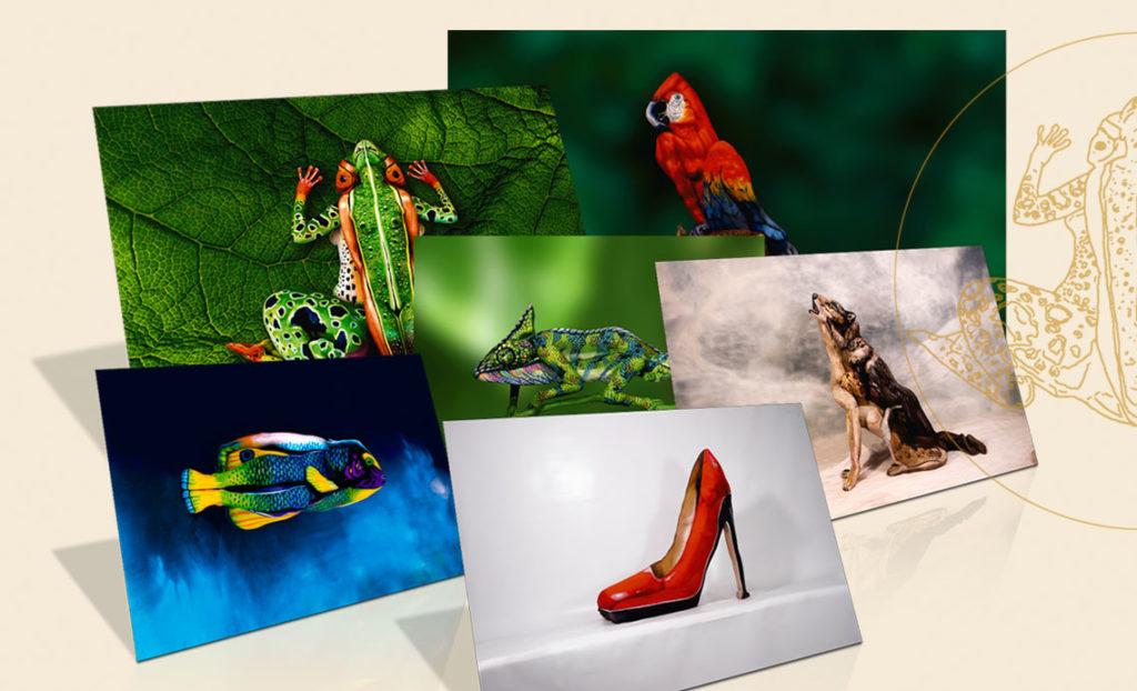 Bodypainting Art Print Editions